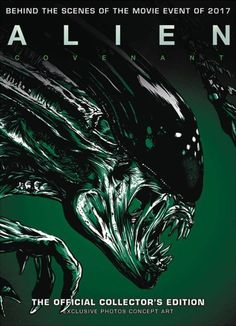 Alien Covenant Artbook Cover