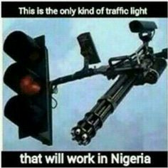 Hilarious Photo!! See The Only Kind Of Traffic Light That Will Be Respected In Nigeria (Photo) - http://www.77evenbusiness.com/hilarious-photo-see-the-only-kind-of-traffic-light-that-will-be-respected-in-nigeria-photo/