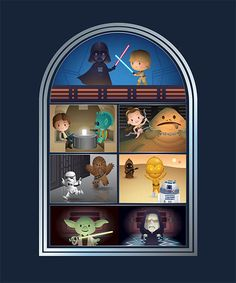 Evitender.com- 'May the Force Be With You' by Jerrod Maruyama for WonderGround Gallery