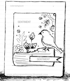 art scrap & more: a Card & a Sketch - Silver Lining...