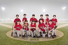 All sizes | Mudcats Baseball Team Portrait, via Flickr.