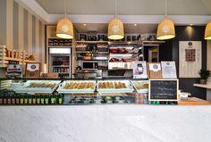 Rinnovo e arredamento interni locali a Roma: arredamento bar pasticcerie, ristoranti wine bar, progettazione design interni.