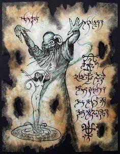 Cthulhu LARP Succubus Incantation Necronomicon Demon Occult Dark Spirits Magick | eBay