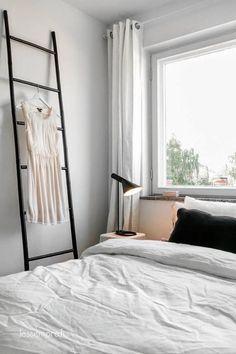 simple white curtain