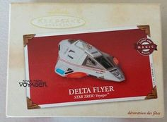 Hallmark ornament Star Trek Voyager Delta Flyer