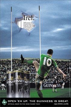 Irish rugby / Guinness advert #IrelandRugby #IRFU #Rugby
