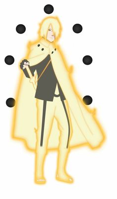 Sasuke Uchiha Kyuubi and Six Paths Form ♥♥♥