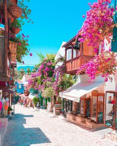 Translated version of test.txtI Kaş an Kaş / Antalya çiçekKaş is an iconic garden with bougainvillea flowers. Places Around The World, The Places Youll Go, Cool Places To Visit, Places To Go, Beautiful Places To Travel, Wonderful Places, Beautiful World, Vacation Places, Dream Vacations