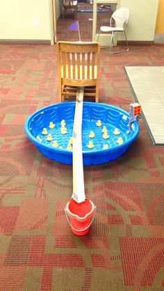Mini Golf at the Library: Kiddie Pool #ladiesgolf