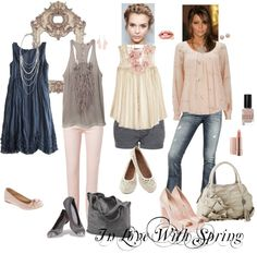 """""""In love with Spring"""" by mamafrock on Polyvore-Type 2"""