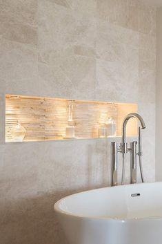 Zen Bathroom Decor, Bathroom Tile Designs, Bathroom Interior Design, Modern Bathroom, Bathroom Lighting, Bathroom Ideas, Bathroom Layout, Small Bathroom, Bedroom Decor