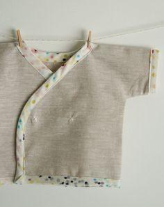 Free Kimono Baby shirt pattern