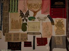 M.d.c. Crawford Embroidery Collection, 1920s, Augusta Auctions, November 2, 2011 NYC, Lot 361