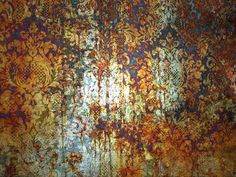 wallpaper_decay.  The beautiful effect of time and elements on wallpaper
