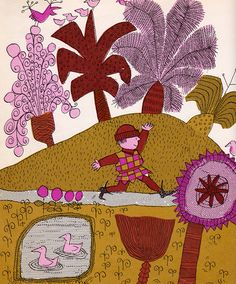 Hans in Luck (retold from Grimm) illustrated by David McKee (1967)