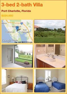 3-bed 2-bath Villa in Port Charlotte, Florida ►$224,900 #PropertyForSale #RealEstate #Florida http://florida-magic.com/properties/6362-villa-for-sale-in-port-charlotte-florida-with-3-bedroom-2-bathroom