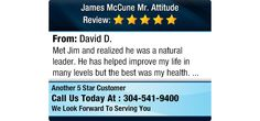 Met Jim and realized he was a natural leader. He has helped improve my life in many...