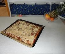 Rezept Pflaumenkuchen vom Blech mit Streuseln von franjo - Rezept der Kategorie Backen süß