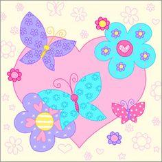 Fluffy Feelings - Butterfly Flowers