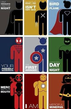 Super heroes! 22APR14