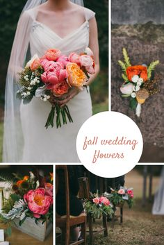 Beautiful inspiration for fall wedding flowers! >> http://www.hgtvgardens.com/weddings/fall-wedding-ideas?soc=pinterest