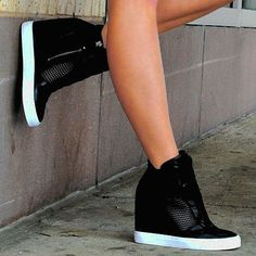 Dkny Cindy Wedge Sneaker Shoes DKNY Wedge Sneakers The post Dkny Cindy Wedge Sneaker Shoes appeared first on Daily Shares. Nike Shoes Cheap, Nike Free Shoes, Nike Shoes Outlet, Cheap Nike, Best Sneakers, Sneakers Fashion, Fashion Shoes, Fashion Outfits, Casual Outfits