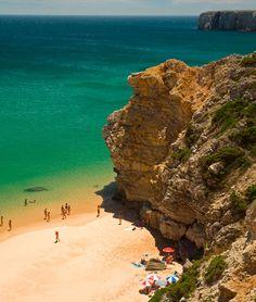 A beach at Sagres, western Algarve