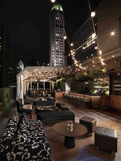 The 10 Best Rooftop Bars In Manhattan, New York City
