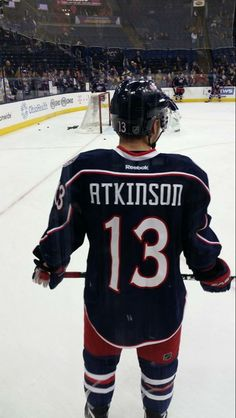 Cam Atkinson 12-09-2014 Hockey Baby, Soccer, Cam Atkinson, Hockey Pictures, Maximum Effort, Columbus Blue Jackets, Hockey Players, Nhl, Reebok