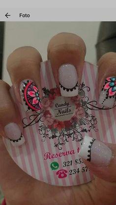 Fabulous Nails, Perfect Nails, Gorgeous Nails, Cute Nails, Pretty Nails, My Nails, Gel Nail Art, Manicure And Pedicure, Nail Polish Designs