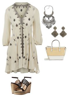 """""""Seeing Stars Challenge"""" by amanda-o-twomey ❤ liked on Polyvore featuring Free People, Diane Von Furstenberg and Kate Spade"""