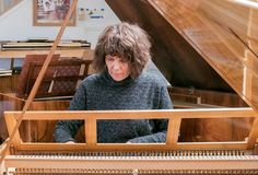 V.Sofronitsky at Stein piano - photo by Claes Grundsten, Swedish photographer and writer