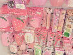 Pink!! #kawaii #strawberry