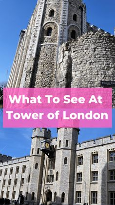 Walk with me through the Tower of London, go from tower to tower and learn about the history, what to see and do and what to not miss. Uk Transport, Water Wise Landscaping, Travel Tips, Travel Uk, Travel England, Travel Europe, Travel Ideas, Bucket List Destinations, Travel Destinations
