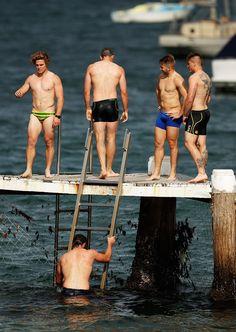 Michael Hooper of the Wallabies Michael Hooper, Rugby League, Boyfriend Material, Bikinis, Sports, Naked, Men, Swim, Hs Sports