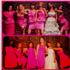 haha Bridesmaids + Glee = Awesome!  Maybe we can get one of us in this pose!