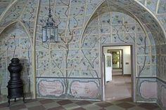 Laubenzimmer von Schloss Bruchsal