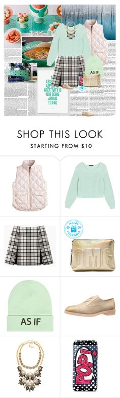 """Winter"" by grace-eun-ae-boye ❤ liked on Polyvore featuring J.Crew, TIBI, Carven, 3.1 Phillip Lim, Wet Seal, Marc by Marc Jacobs, Lee Angel Jewelry, Skinnydip, Gemvara and mint"