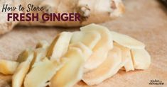 The simple secret for avoiding a stringy mess when grating fresh ginger and how to always have it on hand without it going bad!