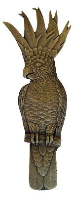 Cockatoo Pull Antique Brass (Vertical - Right side)…