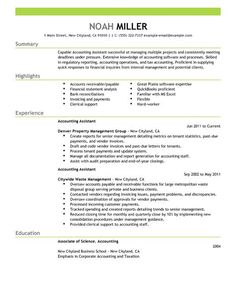 accounting assistant resume examples accounting finance resume examples livecareer - Finance Resumes