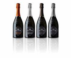 Follador's Prestige Line include 4 DOCGs in the Brut, Extra dry, Cartizze and Torri di Credazzo Cuvée categories.