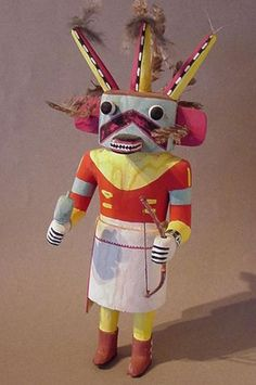 Very neat. Pink, black and yellow with three horns. Named Payik'ala.