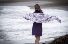 Items similar to Purple ribbon Silk Tallit Tallit, Prayer Shawl, Purple Ribbon, Bat Mitzvah, Ballet Skirt, Silk, Handmade, Color, Collection