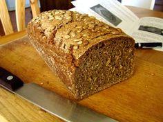 Chleb na zakwasie, bez drożdży i konserwantów.
