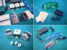 2500mW A3 30x40cm Desktop DIY Violet Laser Engraver Picture CNC Printer Assembling Kits Sale-Banggood.com