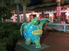 Sculpture in Jacksonville Beach Florida