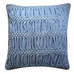 Hand Stitched Striped Wave Signature Cushion Nitin Goyal London £60.00