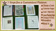 Free Curriculum Planner - 7 STEP Planner               {step by step guide to creating your own customized planner}