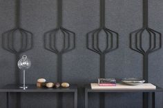 #acousticcs #sounddampening │ submaterial's latest practical and chic acoustic wall options | @meccinteriors | design bites